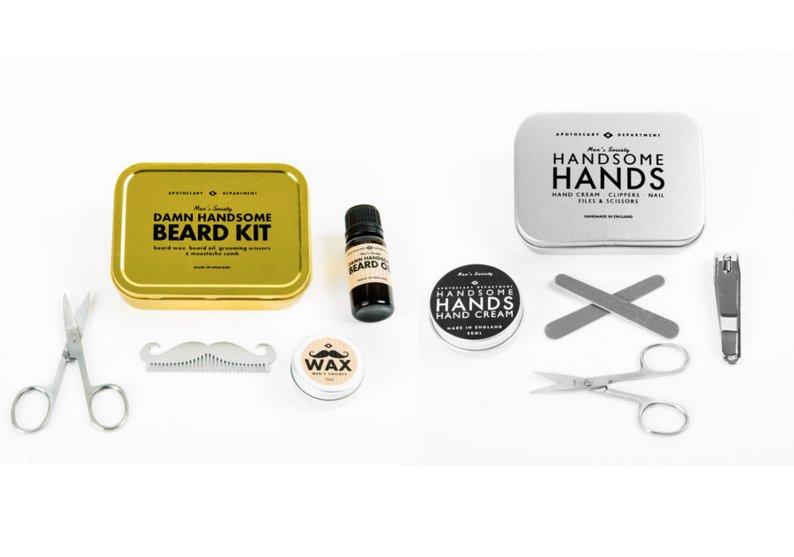 Stijlmagazine-Valentijn- Beard kit -Hand kit -Men society