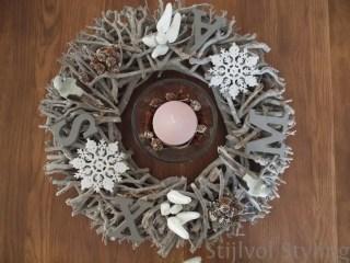 Binnenkijken bij | Kerstdecoratie bij mij thuis (deel 1) #diy #kerst - www.stijlvolstyling.com