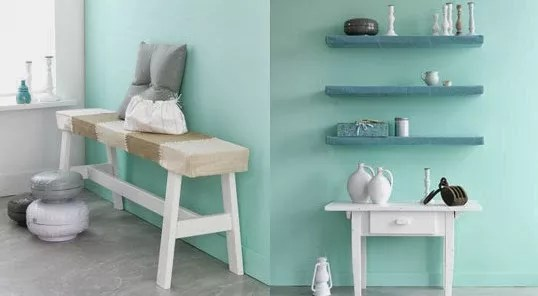 Interieur  Kleur  Mintgroen in jouw interieur incl