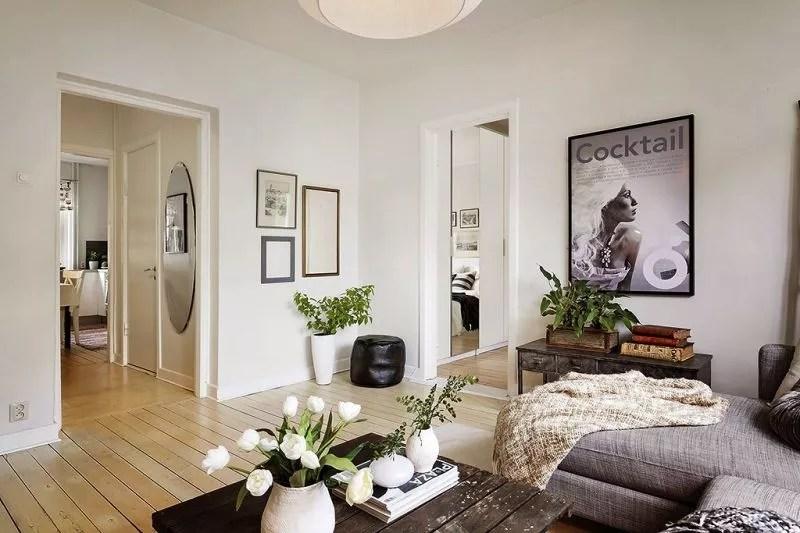 Binnenkijken | Wonen op 50m2 in dit stijlvolle appartement in Göteborg