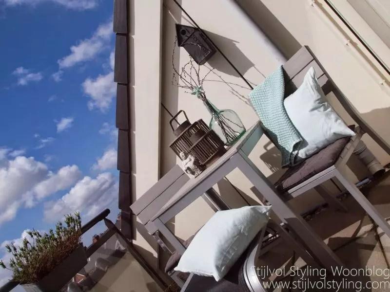 Balkon inspiratie   25x inspiratie - Klein balkon inrichten // Lifestyle- & woonblog StijlvolStyling.com by SBZ Interieur Design