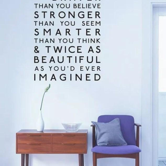 Interieur | Spreuken aan de muur