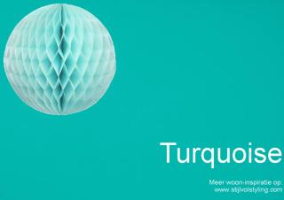 Kleur & Interieur | Turquoise interieur styling • Stijlvol Styling ...