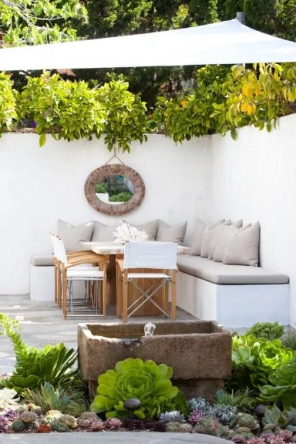 Tuin inspiratie tuin inrichten in ibiza stijl stijlvol styling woonblog - Outdoor tuin decoratie ideeen ...