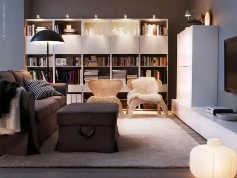Interieur 10 tips voor het inrichten van een klein huis of appartement stijlvol styling - Kamer indeling ...