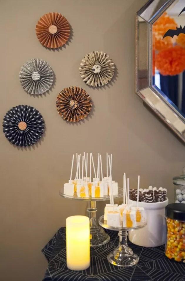 Feestdagen halloween decoratie idee n stijlvol styling woonblog - Rustieke eetkamer decoratie ...