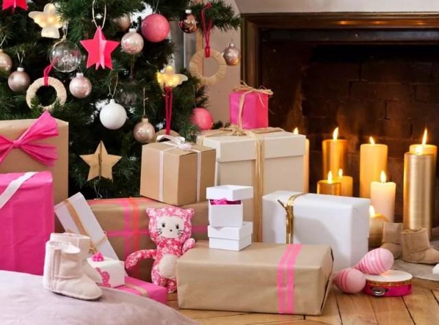 Feestdagen Natuurlijke Kerstdecoratie : Feestdagen roze kerstdecoratie u2022 stijlvol styling woonblog u2022 voel