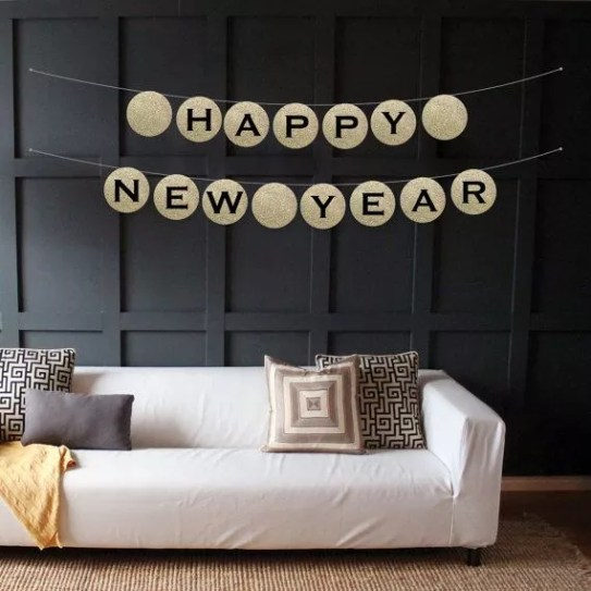 Oud en Nieuw feest decoratie - beeld: babble