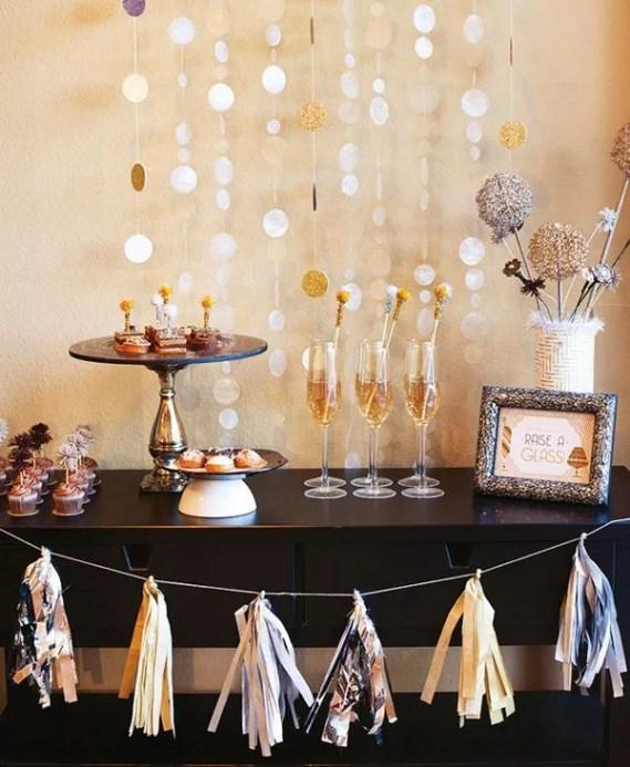 Oud en Nieuw feest decoratie - beeld: hwtm
