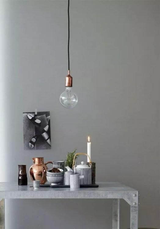 Globe lichtbronnen / lampen als interieurtrend