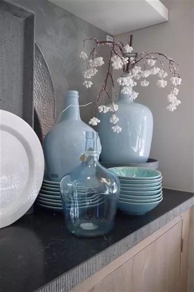 Interieur  Een blauw interieur  fris modern of toch