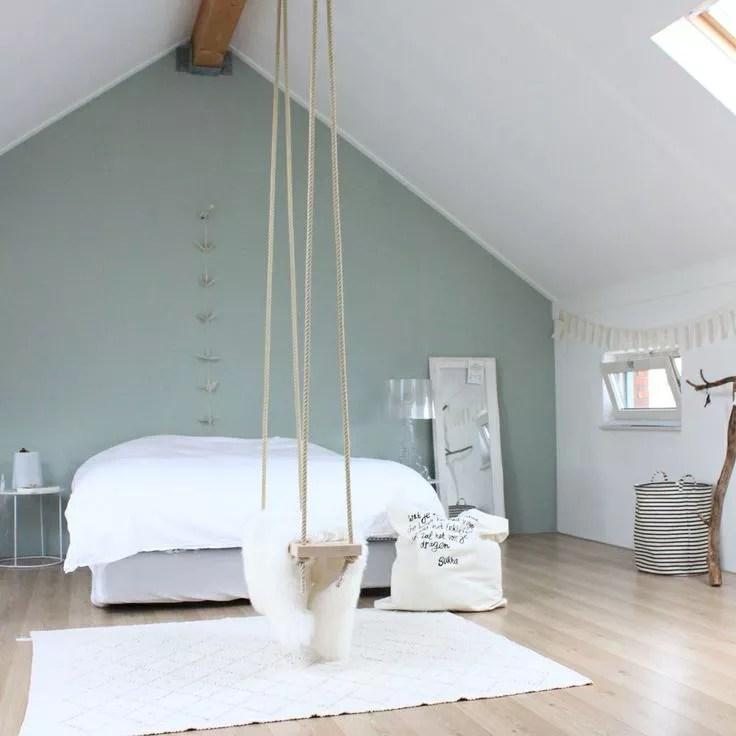 Interieur  Slaapkamer op zolder  Stijlvol Styling