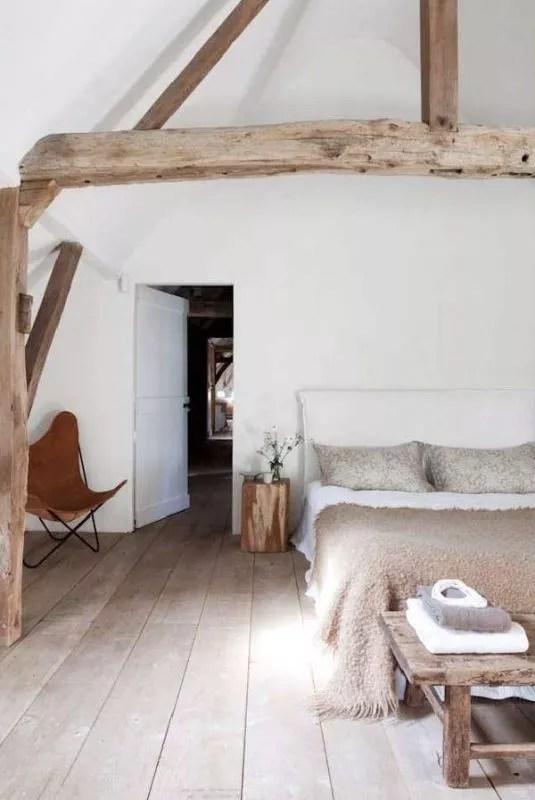 Interieur slaapkamer op zolder stijlvol styling woonblog - Slaapkamer inrichting ...
