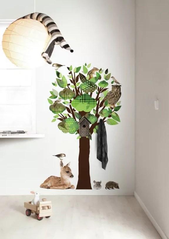 Interieur & kids   De leukste muurstickers voor babykamer - #woonblog Stijlvol Styling www.stijlvolstyling.com