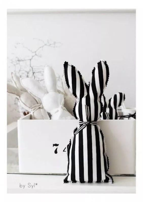 Feestdagen | Paas decoratie ideeën in zwart wit - Stijlvol Styling woonblog