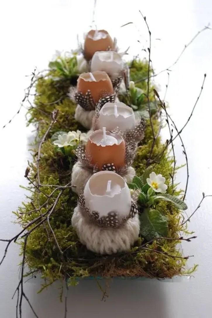 Feestdagen | Rustieke paas tafel decoratie - Stijlvol Styling woonblog www.stijlvolstyling.com