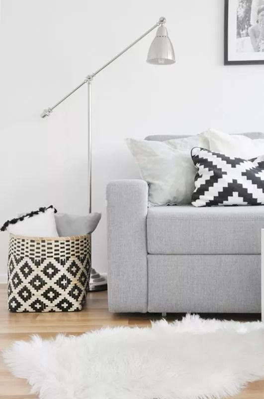Interieur | Styling met manden - #woonblog Stijlvol Styling www.stijlvolstyling.com
