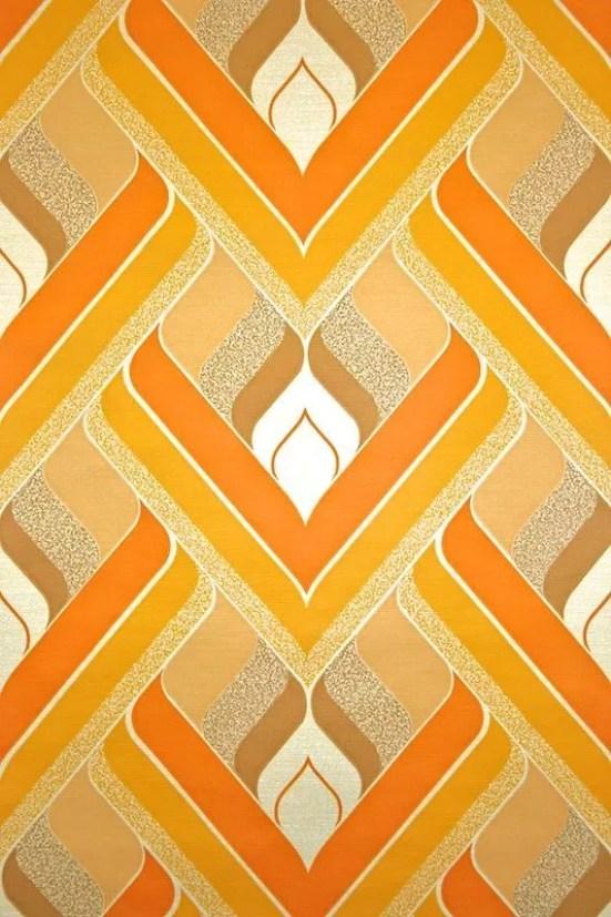 Jaren 70 behang | Retro | Stijlvol Styling woonblog www.stijvolstyling.com