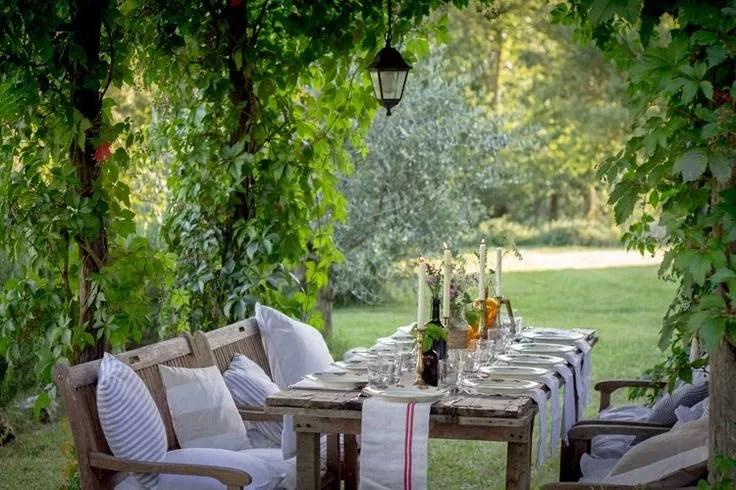 Feest styling tuin decoratie trends 3 toscaans for Decoratie feest