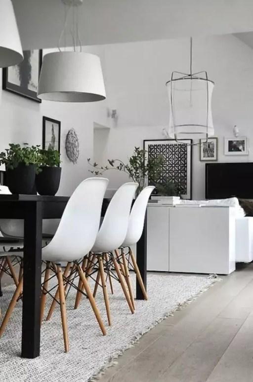 Interieur inspiratie | 15x stijlvolle zwart wit woonkamer. - Stijlvol Styling woonblog www.stijlvolstyling.com