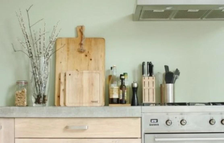 Interieur inspiratie  Mintgroen in de keuken  Stijlvol