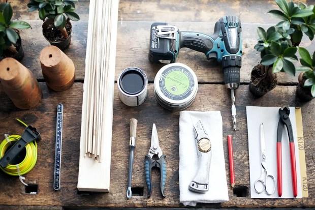 DIY | Stoere planten houder - Stijlvol Styling woonblog www.stijlvolstyling.com