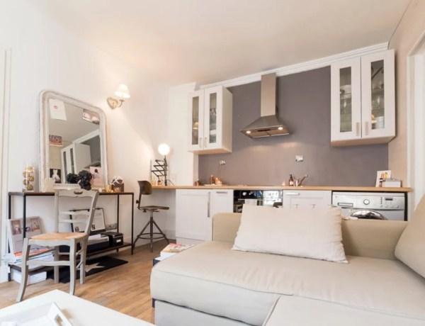 Binnenkijken | Wonen op 25m2 in Parijs - Stijlvol Styling woonblog www.stijlvolstyling.com