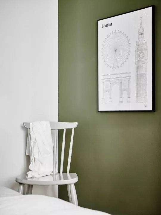 Binnenkijken  Sfeervol interieur in grijs groen en wit