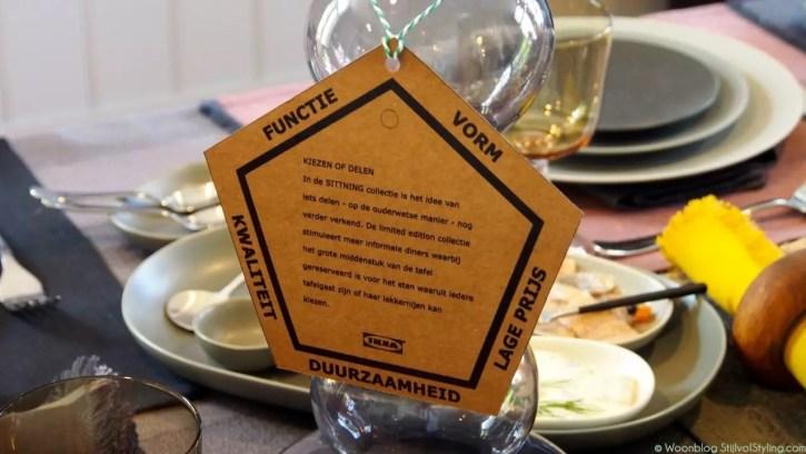 Interieur | Feestelijke diner met Ikea's SITTING collectie. - #Woonblog StijlvolStyling.com