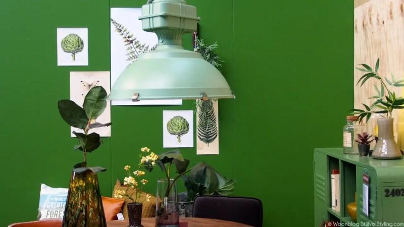 Woontrends 2016 | Groen = hip op de vtwonen &design beurs - © Woonblog StijlvolStyling.com