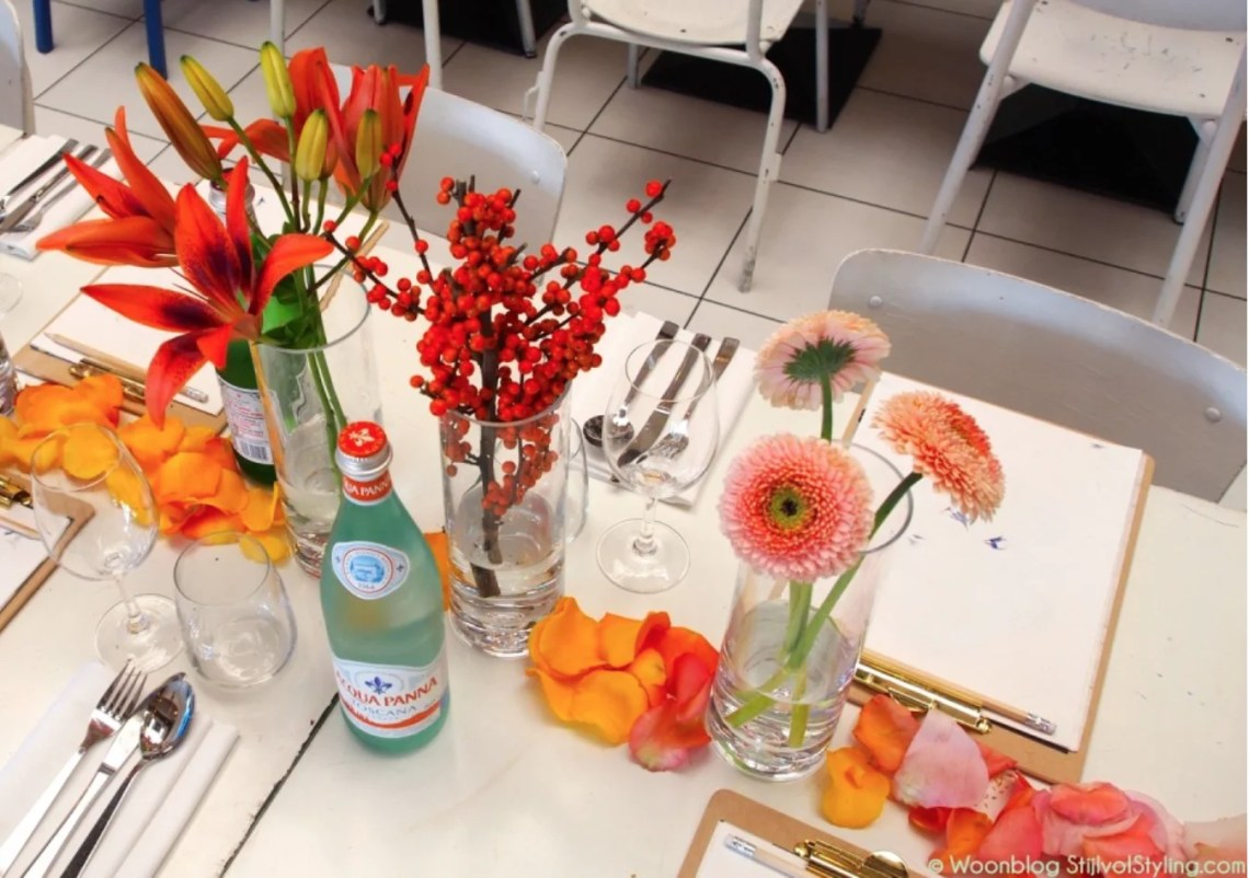 Woontrends 2016 | Planten & bloemen trendlunch 2016 - © Susanne van Woonblog Stijlvol Styling.com