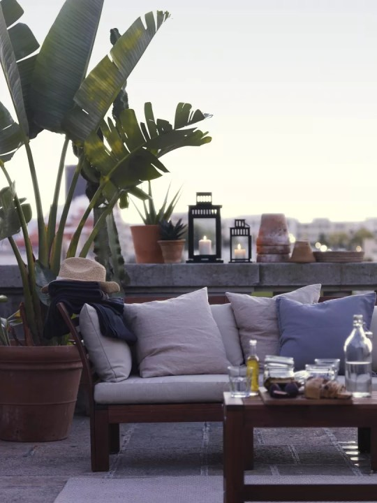 Tuin inspiratie | Een kleine tuin inrichten doe je zo! // Lifestyle & woonblog StijlvolStyling.com (beeld: ikea)