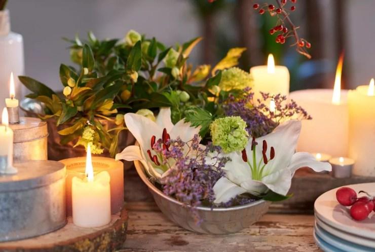 Groen wonen | Kerst decoratie met de planten & bloemen van 2015 - Woonblog StijlvolStyling.com