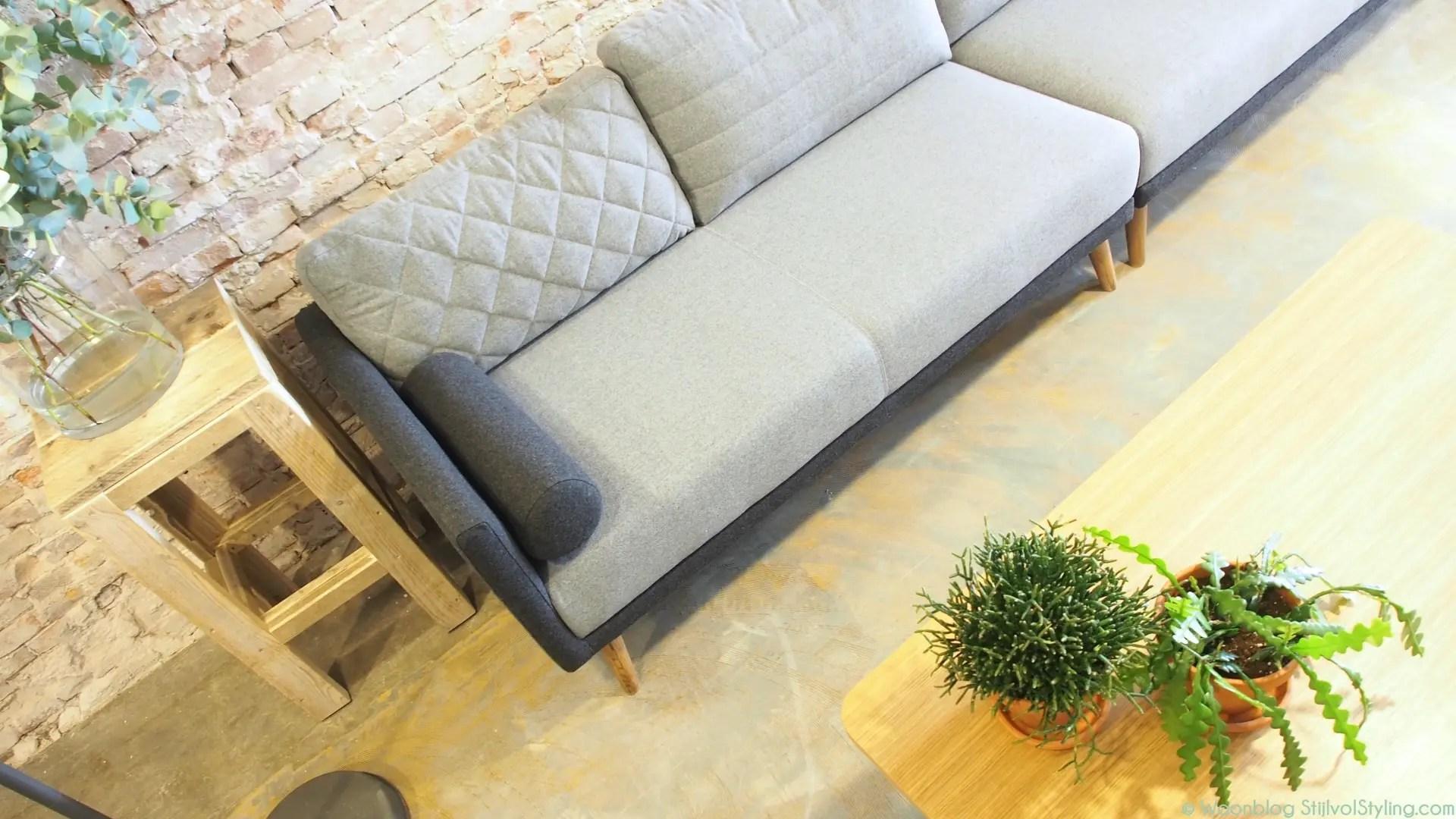 sofa company nl overstuffed covers interieur mood corner styling bij de sofacompany pop up store amsterdam