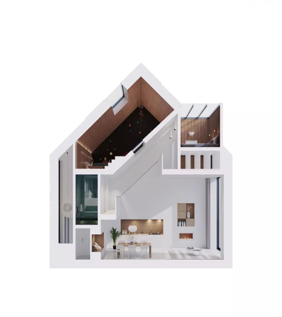 Binnenkijken | Droomhuis van data: het funda Huis - Woonblog StijlvolStyling.com