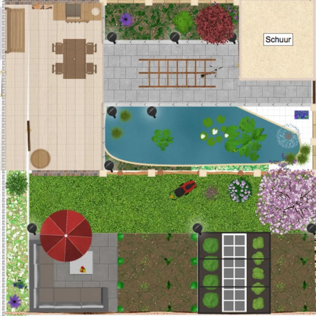 Tuin inspiratie zelf je tuin ontwerpen stijlvol for Tuin online ontwerpen