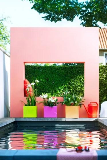 Tuin inspiratie | Zomerbollen brengen vrolijkheid in de tuin - Woonblog StijlvolStyling.com