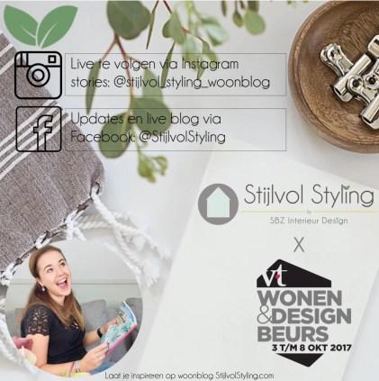 Woonblog StijlvolStyling.com - vtwonen&design beurs 2017 #vtwdbeurs #stijlvolstyling