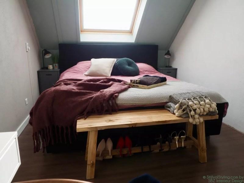 Interieur styling slaapkamer SBZ Interieur Design © StijlvolStyling.com - sbzinterieurdesign.nl
