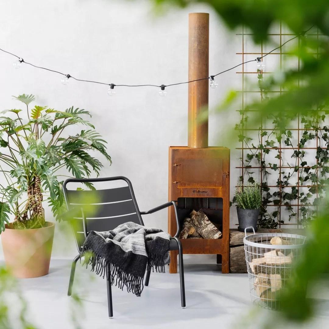 Tuin inspiratie | De 3 tuintrends 2018 - Tropisch, industrieel & modern | Lifestyle & woonblog StijlvolStyling.com (Beeld: FonQ)