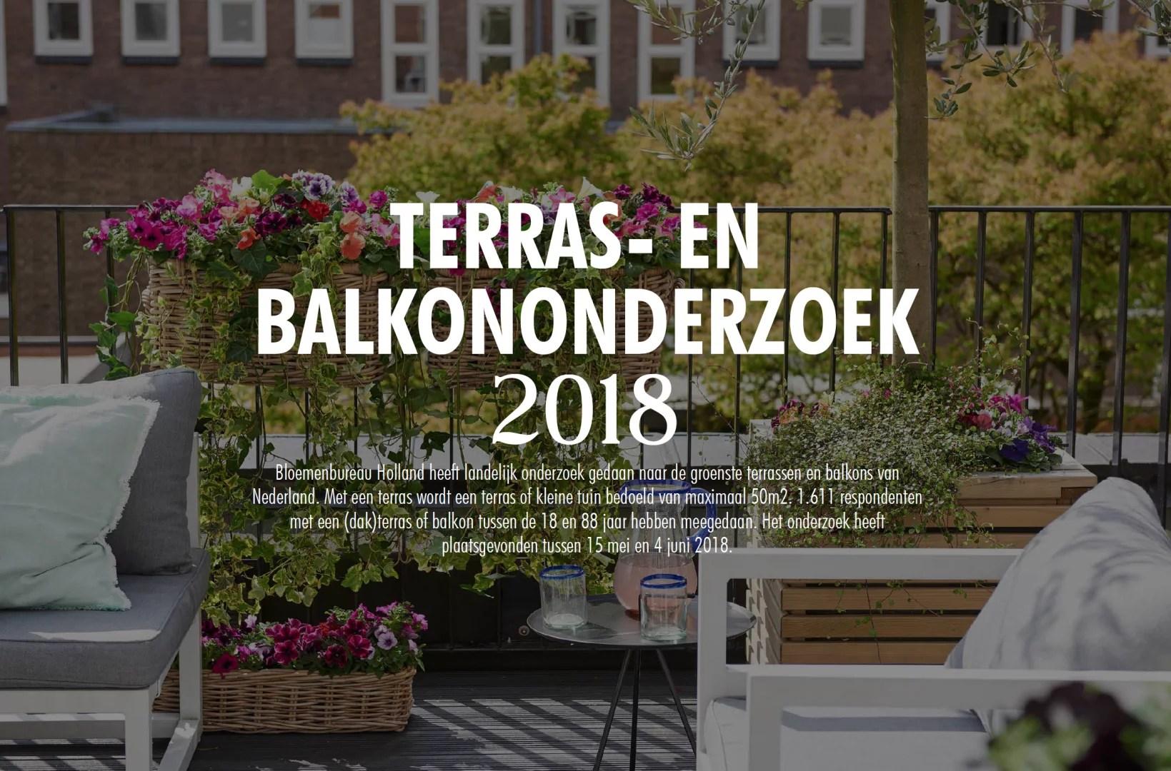 Buitenleven   Het grote terras- en balkononderzoek 2018 - 2019 // Lifestyle & woonblog StijlvolStyling.com (Beeld: Bloemenbureau Holland)
