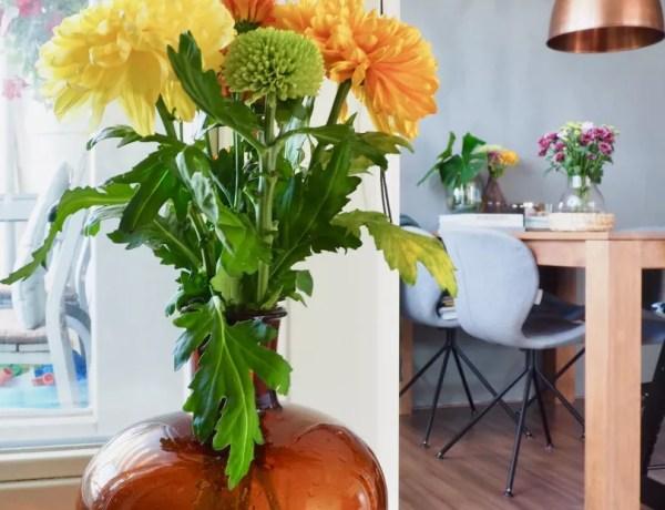 Groen wonen | Chrysanten kleuren je zomer // Woonblog StijlvolStyling.com by SBZ Interieur Design