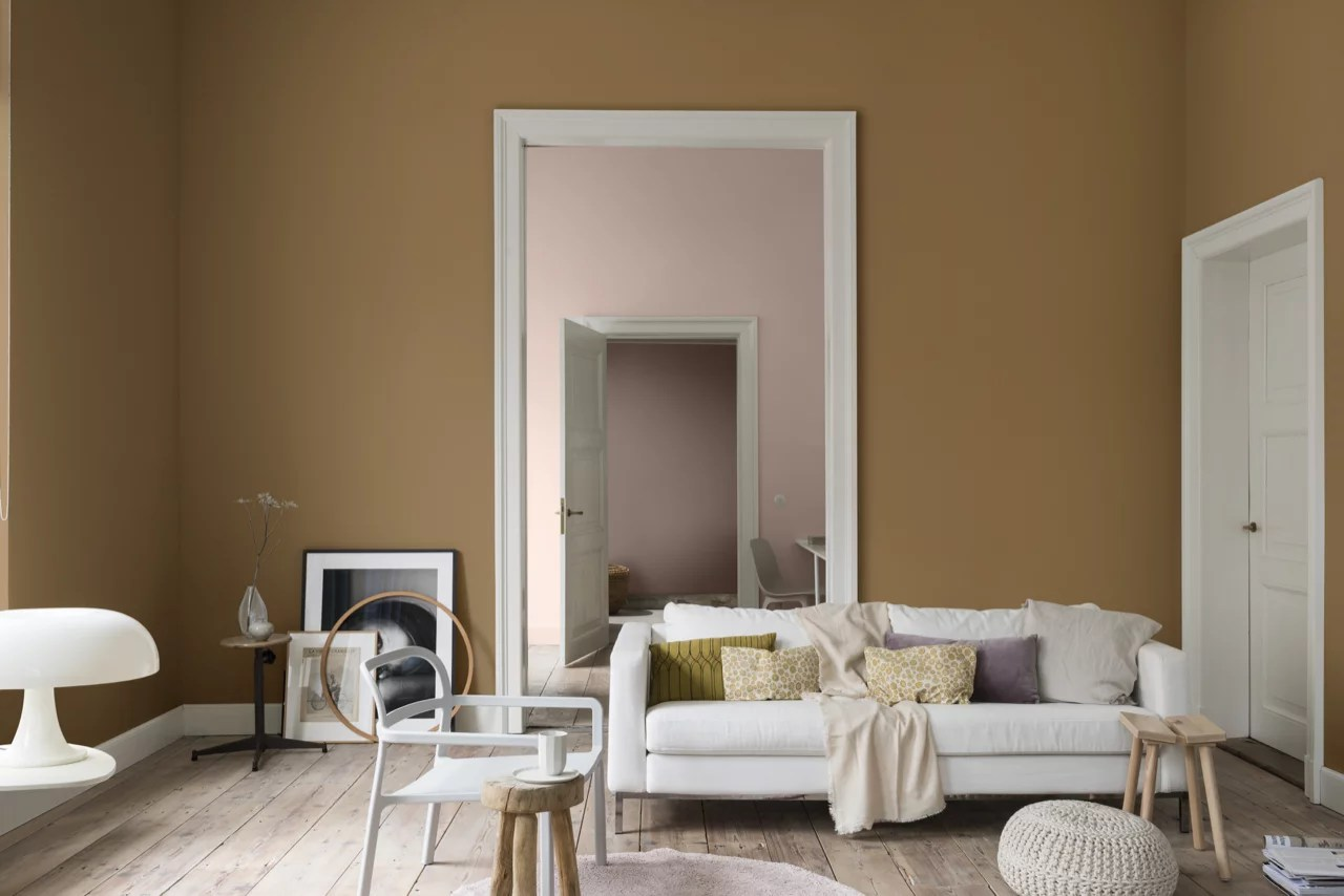 Woontrends 2019 | Dream-palet, dromerige kleuren, wit wonen en aaibare combinaties | Woonblog StijlvolStyling.com by SBZ Interieur Design Photo: Dulux-Colour-Futures-Colour-of-the-Year-2019-A-place-to-dream-Bedroom-Inspiration-Global