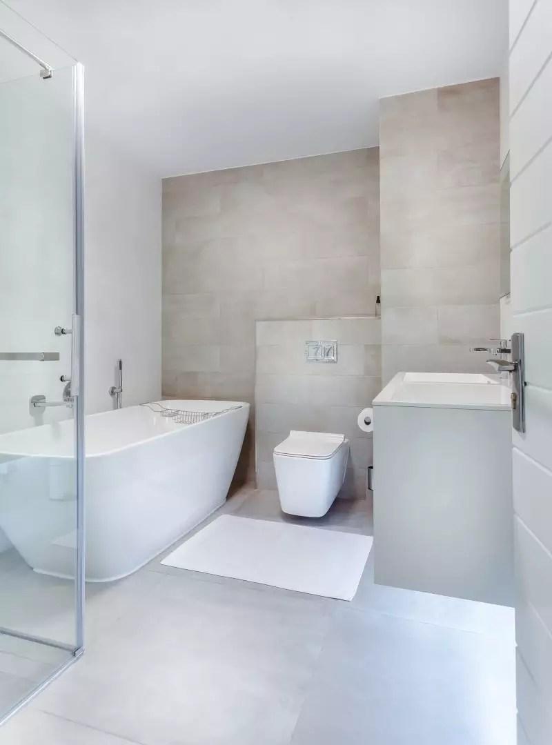 Interieur   Droom badkamer met vrijstaand bad - Woonblog StijlvolStyling.com