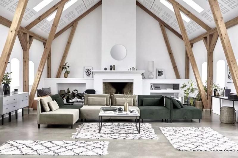 Woontrends   Velvet stof in je woning. Doe jij mee met deze trend? Woonblog StijlvolStyling.com (beeld: House Doctor)