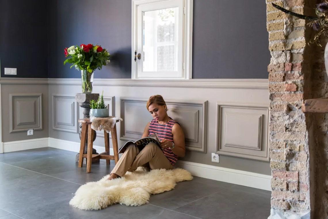 Interieur | Sierlijsten als wanddecoratie: dé klassieke touch aan jouw interieur! | Foto: Wanddecoratie Pulitzer Het Schippertje