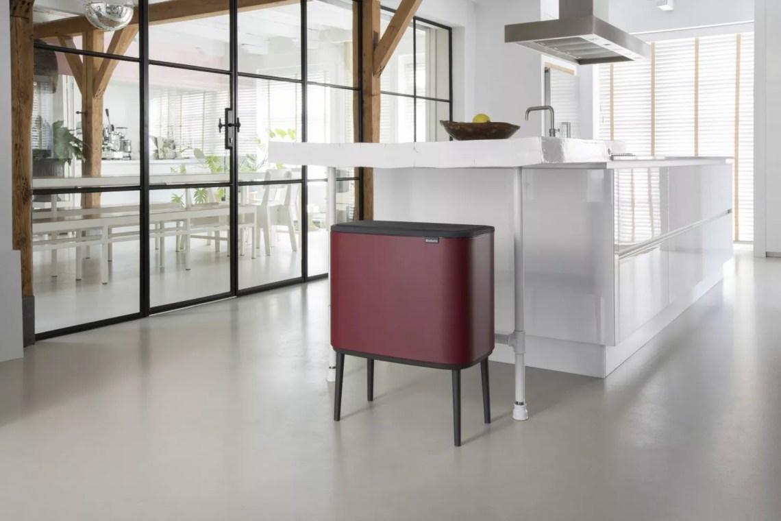 Keuken inspiratie | Bo Touch Bin; een nieuwe kijk op afval - beeld: Brabantia BO - blog: StijlvolStyling.com