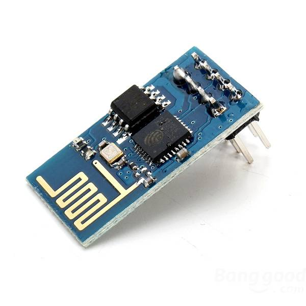 Connected with the ESP8266