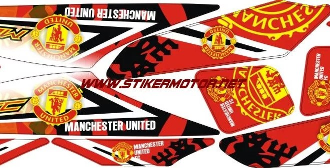 decal motor beat manchaster united