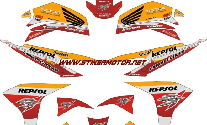 striping motor cs1 repsol